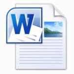 Word Doc Icon 150x150